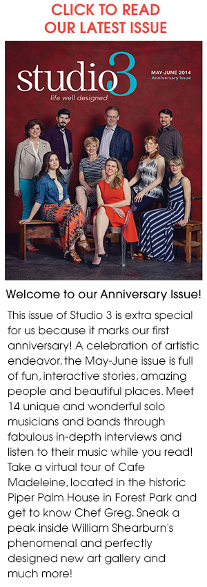 Read the May / June 2014 issue of Studio 3 Magazine